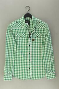 G-Star Checkered Shirt for Men Size XL Checked Very Good Long Sleeve Green from