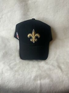 Saints Super Bowl XLIV 44 Champions NFL Football SnapBack Hat Cap Reebok Black