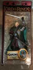 the lord of the rings toybiz Gamling In Rohan Armor With Weapons action figure