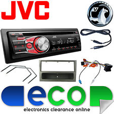 Vauxhall Corsa C 2004-2006 JVC Car Stereo Radio Upgrade Kit CD MP3 AUX Gun Metal