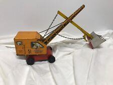 Vintage Courtland Excavating Construction Camden N.J. Tin Litho Shovel Crane