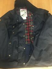 Barbour Backhouse Mens XXL 58in Waxed Waterproof Town & Country Jacket Excellent