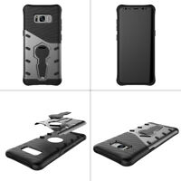 For Samsung Hybrid Shockproof Protective Hard Back Stand Phone Case Cover