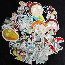 35pcs Interesting Rick Comic Topic Car Sticker Graffiti Sticker Suitcase New