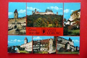 Coburg - Gruß von der Veste - Oberfranken - Ak gelaufen - 1979 - Bayern
