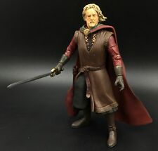 """Lord of the Rings Trilogy ToyBiz 6"""" Scale KING THEODEN 100% Complete Hobbit"""