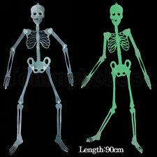 90cm Esqueleto colgante Decoraciones de pared fiesta miedoVelada noche oscuridad