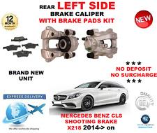 FOR MERCEDES BENZ CLS220 CLS250 BLUETEC 2014-> REAR LEFT BRAKE CALIPER + PADS