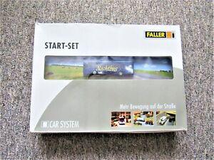 FALLER CAR SYSTEM STARTER SET: 'NACHTBUS', no. 161499