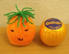 KNITTING PATTERN AND WOOL for Christmas Carrot Chocolate Orange Cover