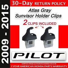 Genuine OEM (2009-2015) Honda Pilot Sunvisor Clips (Pair) Two ( bf915132d5b