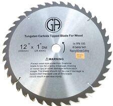 "12"" Inch Circular Saw Blade for Wood Carbide Tipped 40T GA (TC204)"
