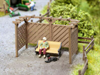 Noch Laser Cut Minis Pergola 14229 HO Scale (suit OO Also)