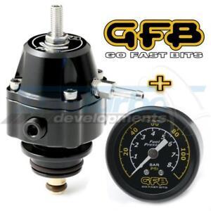 GFB FX-S DIRECT FITMENT FORD BA BF FG FUEL PRESSURE REG GUAGE SET TURBO XR6 FPV