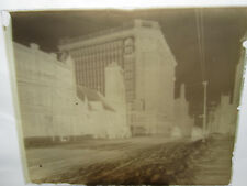 Antique Glass Negative Euclid Ave Cleveland, Ohio - Ice Storm #7