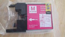 NEW Magenta Pink Ink Cartridge C LC12/40/71  73/75/400  1220/1240 Printer