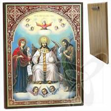 Ikone Zar des Ruhmes Holz 30 x 40 Царь Славы Icône икона ikona