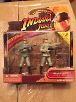Indiana Jones Raiders Of The Lost Ark German Soldiers Action Figure 2 Hasbro