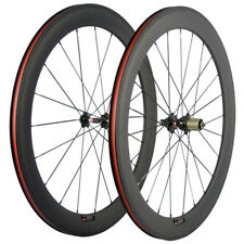 60mm Carbon Wheelset Novatec 271 Hub Shimano 10/11 Speed Carbon Fiber Wheels