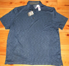 Van Heusen classic fit polo shirt Nwt mens' Xxl Blue Ribbon natural stretch $50