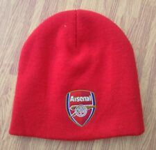Arsenal F.C. Soccer Red Knit Winter Cap ~ Youth Child ~ Futbol Football