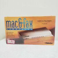 US Robotics Sportster 14,4000 14.4K Fax Modem NEW SEALED Mac Macworld