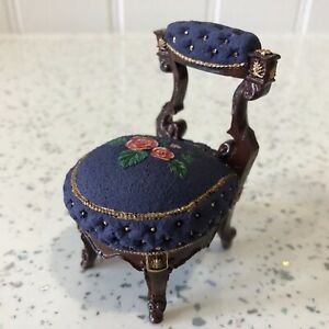 Dolls house miniature 1:12 pretty occasional chair