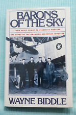Barons of the Sky - Biddle - Story of the American Aerospace Industry - HB