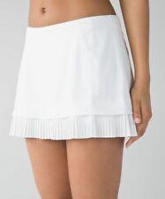 Lululemon White City Sky Run By Skirt - Size 6