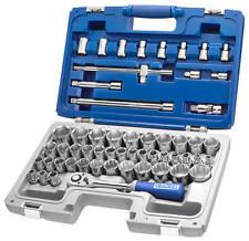 "Britool Expert E032909 55 Piece 1/2"" Drive Metric, AF & Torx Socket Set"
