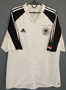 MEN'S ADIDAS GERMANY 2004/2005 DEUTSCHLAND SOCCER FOOTBALL SHIRT JERSEY SIZE 2XL