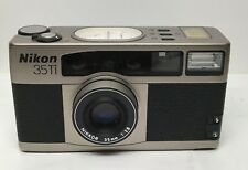 Nikon 35Ti 35mm Point & Shoot FILM Camera **For Parts/Repair Only**