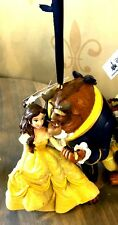 Disney Parks Beauty and the Beast Glitter Dress Ornament Holiday Belle and Beast