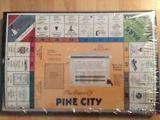 Pine City Minnesota Board Game Vintage Local Landmarks Business Names unopened