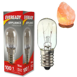 Himalayan Salt Lamp 1x Replacement Bulbs E14 15W Pygmy Appliance SES Small Screw