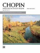 Prelude in D-flat Major, Op. 28, No. 15 : Sheet
