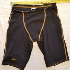 Speedo Male Jammer LZR Racer Pro Black / Copper Size 30