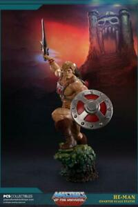 PCS Collectibles HE-MAN EXCLUSIVE 1/4 QUATER SCALE Statue 11/300 and ART PRINT