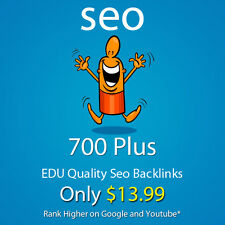 Get 700 Plus EDU high quality SEO backlinks and Rank Higher