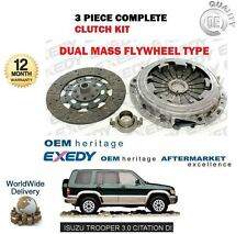 FOR ISUZU BIG HORN TROOPER 3.0 DTI UBS73 4JX1 1998->3 PIECE CLUTCH KIT SET EXEDY