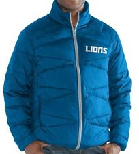 "Detroit Lions G-III Men's XL Blitz F/Z Packable Jacket NFL ""HONOLULU BLUE"" NWT"