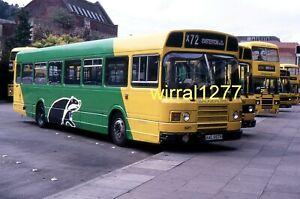 6x4 Bus colour photograph Badgerline National AAE657V
