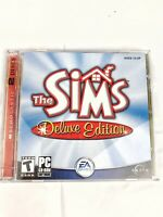 The Sims Deluxe Edition Game PC CD-Rom 2004 EA Games 2 Discs 014