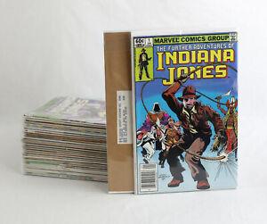MARVEL INDIANA JONES LOT ~ Further Adventures Complete 1-34 Comics + Mailers