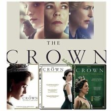 THE CROWN. COMPLETE SERIES 1-4 DVD
