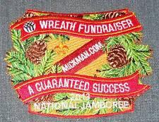 2013 National Boy Scout Jamboree Boys' Life Totem Pole Wreath Patch MINT! Jambo