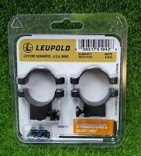 Leupold RingMounts Scope Rings for Ruger M77 30mm High, Matte Black - 51042