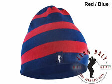 New John Daly Golf Reversible Red Blue One Size GRIP IT & RIP Beanie Free Ship