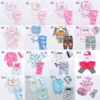 Lifelike Baby Dolls Romper Dress Clothes for 22''-23'' Reborn Baby Girl Boy Doll