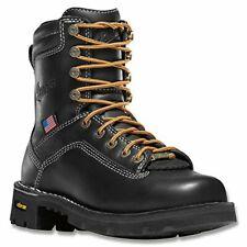 Danner Women's Quarry USA 17325 Alloy Toe Work Boots Black Size 9.5